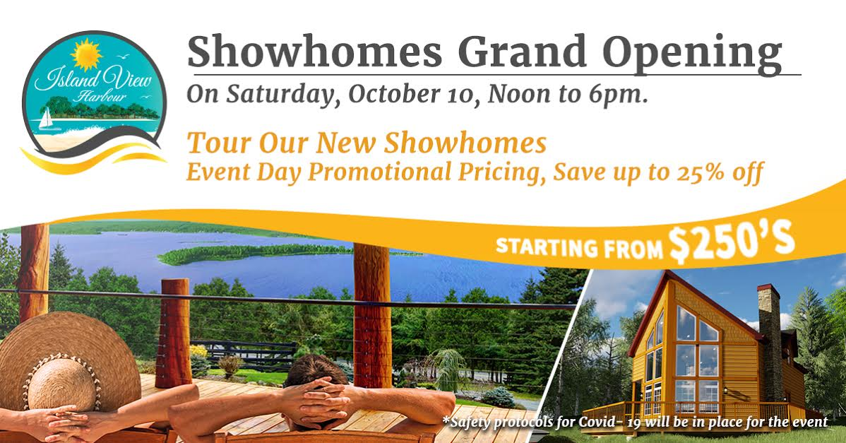 Showhomes Grand Opening